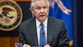US-Präsident Donald Trumps ungeliebter Justizminister: der 71-jährige Jeff Sessions.