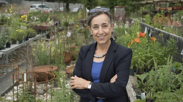Angelica Cavegn Leitner, Stadtpräsidenten-Kandidatin, 14. Juni 2017.