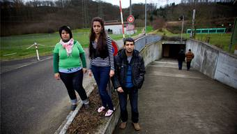 Am 22. Dezember 2011 öffnete Pratteln die Zivilschutzanlage für Asylbewerber. Ende März schliesst sie. Ise