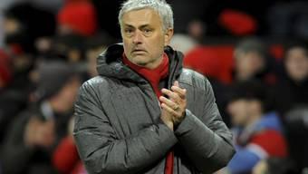 Jose Mourinho bleibt bis 2020 Trainer von Manchester United