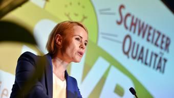 Die Delegierten der SVP schicken Natalie Rickli für den Regierungsratswahlkampf.
