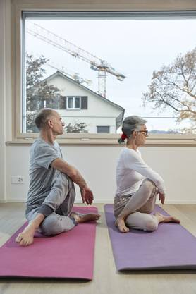 Ständig auf Achse: Heutige Senioren tun etwas für die innere Mitte...