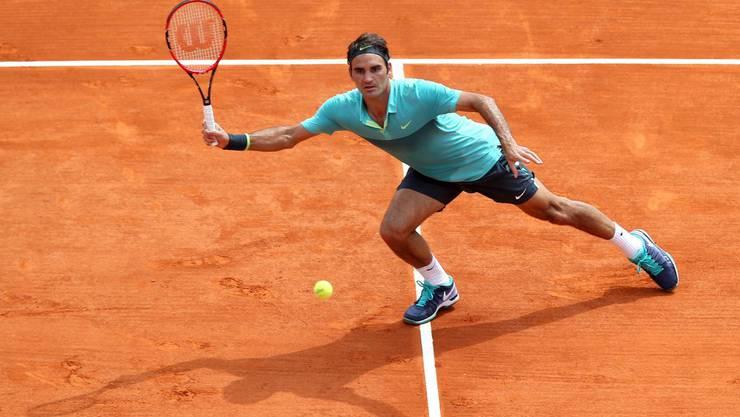 Roger Federer scheiterte im Achtelfinal am Franzosen Monfils.