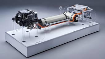 Der Brennstoffzellen-Antrieb passt in die bestehende Fahrzeug-Architektur.
