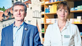 Sowohl Grünen-Grossrat und Hausarzt Severin Lüscher als auch Martina Sigg, FDP-Grossrätin und Apothekerin, glauben, dass der Kanton Aargau sein derzeitiges Rettungskonzept noch optimieren kann.