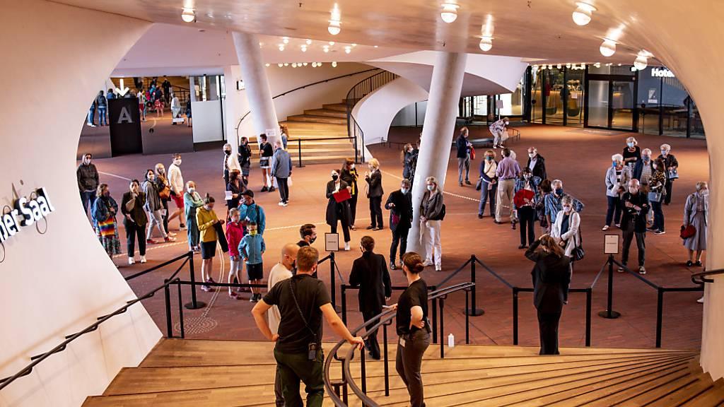 Erstes Konzert in Elbphilharmonie seit fünf Monaten