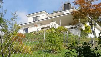 Das «Burgerhaus» (Delphinweg 21) liegt zwischen dem See und dem Wohnhaus, in das die Familie Hayek 1962 eingezogen ist.