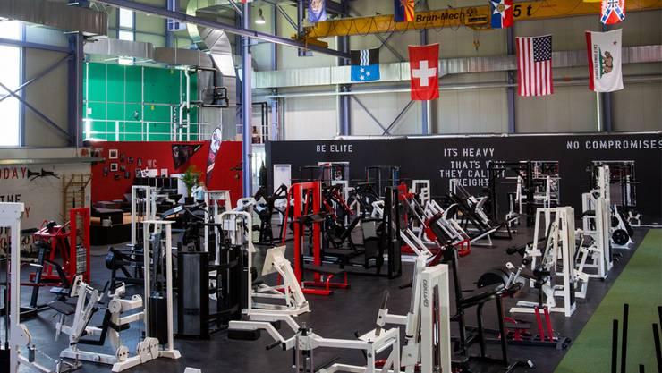 Das NRG Gym ist vor wenigen Tagen im AMG-Areal eröffnet worden.