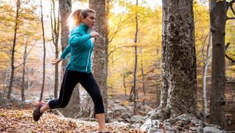 Beliebtes Hobby: 27 Prozent der Schweizerinnen und Schweizer joggen.