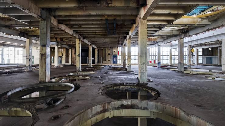 Die chemische Industrie (hier ein ehemaliges Produktionsgebäude im Klybeck) ging im vergangenen Jahrhundert arglos mit dem Abfall um, den sie produzierte. (zvg / keystone)