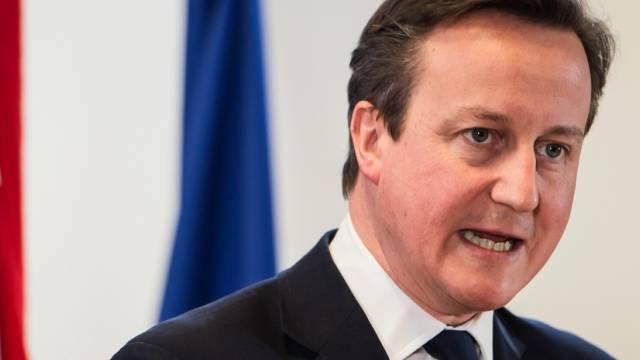 Der britische Premier Cameron stellt Forderungen an die EU (Archiv)