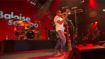 Trombone Shorty und seine Orleans Avenue Band entfalteten eine unglaubliche musikalische und rhythmische Energie.