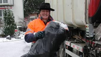 Pfarrer Bruno Wiher arbeitete in seinem Sabbatical unter anderem bei der Müllabfuhr.