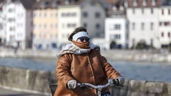 Gegen Ende Februar wurde es dann richtig kalt.