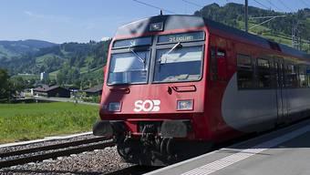 Die Schweizerische Südostbahn SOB wird ab 2020 durch den Aargau fahren – aber hier nicht halten.