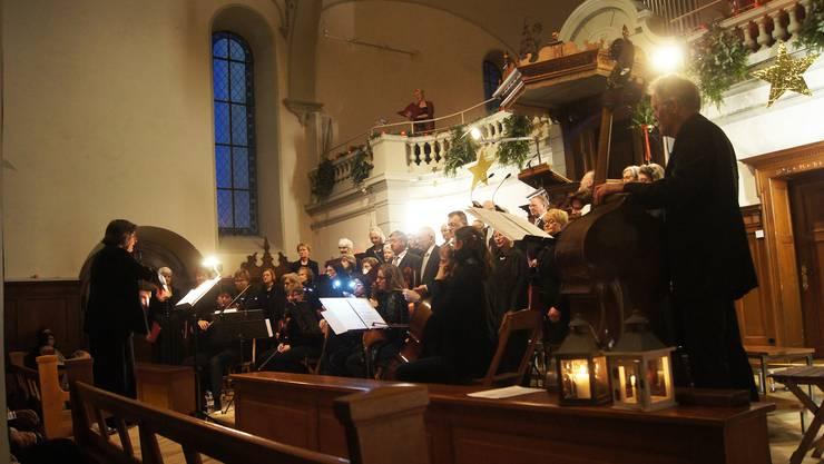 Unter der Leitung von Rosette Roth sang der Chor das Lied «Der Herr ist mein Hirte» des deutschen Komponisten Max Drischner.