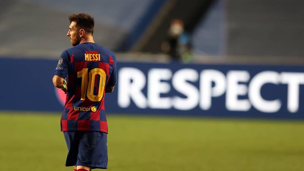 Lionel Messi bringt Barcelona in Aufruhr