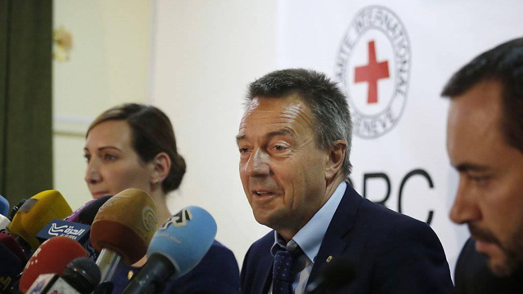 Dramatische Lage: IKRK-Präsident Peter Maurer über die finanzielle Lage der Hilfsorganisation
