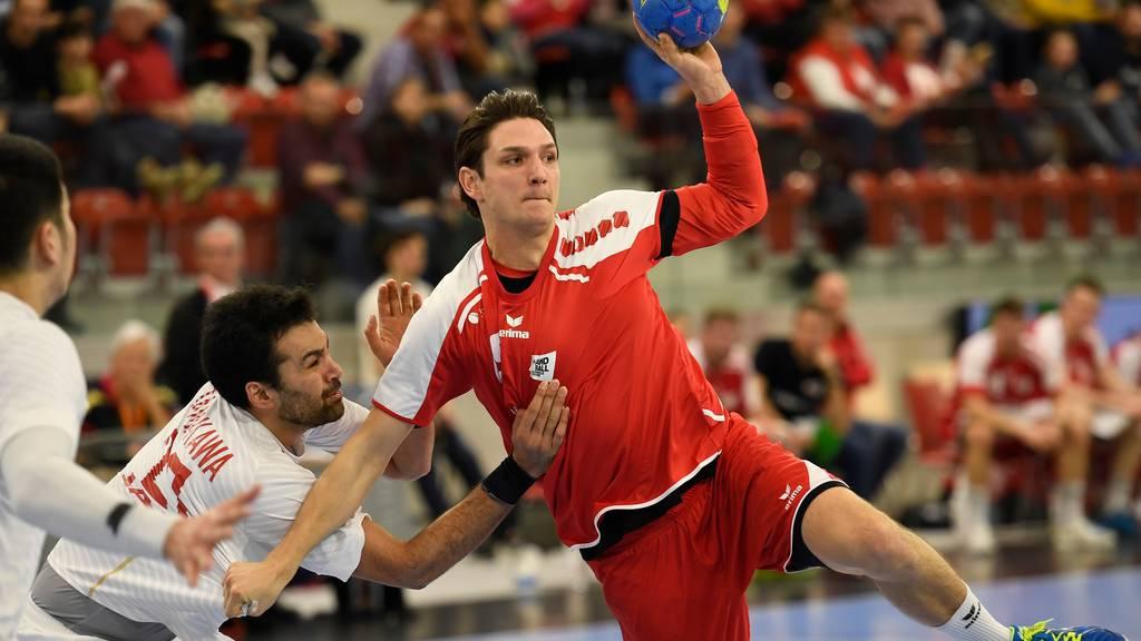 Handball EM-Qualifikation: Das Schweizer Kader für die Spiele gegen Belgien