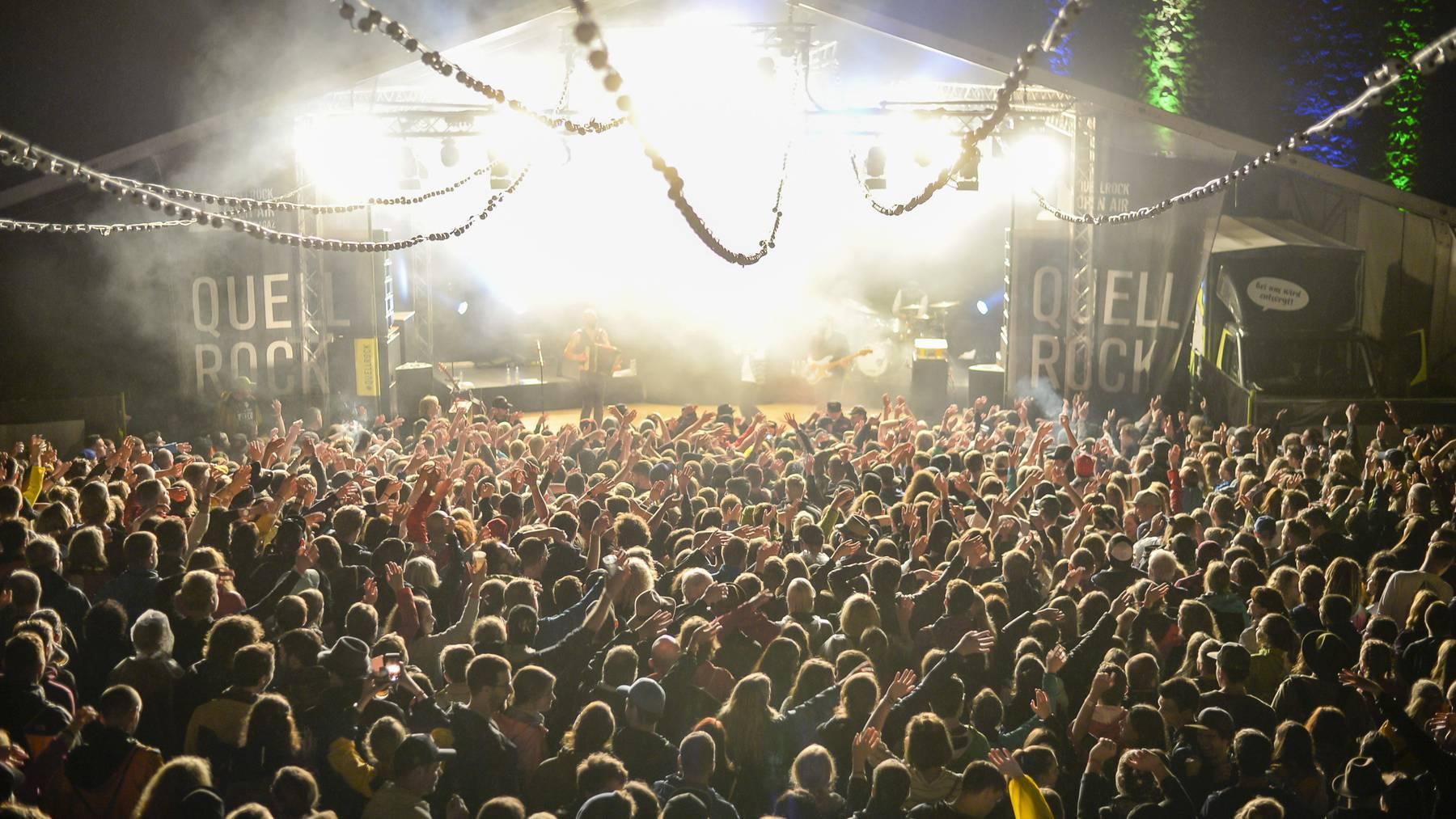 Mit 4300 Festivalbesuchern war das Quellrock am Samstag ausverkauft.