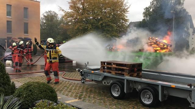 Hauptübung der Feuerwehr Dietikon