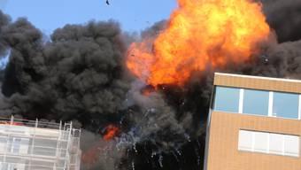 Brand in Oltner Überbauung «Aarepark»