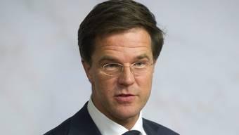 Der niederländische Ministerpräsident Mark Rutte (Archiv)