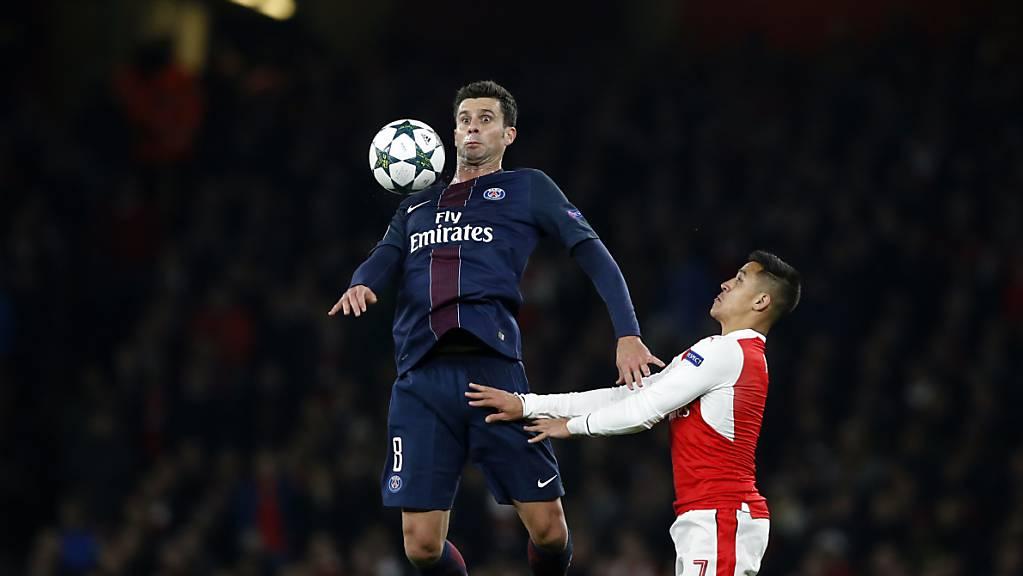 Seine Aktiv-Karriere beendete Thiago Motta, neu Trainer des Serie-A-Klubs Genoa, vor einem Jahr im Dress von Paris Saint-Germain.