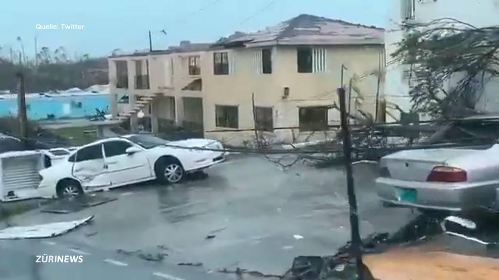 Hurrikan Dorian hinterlässt enorme Schäden