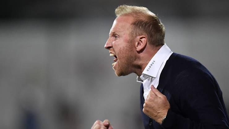 Ludovic Magnin verteidigt seine Mannschaft mit Nachdruck