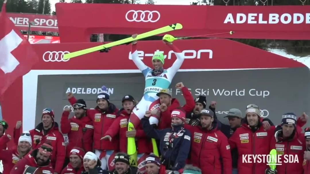 Holt Daniel Yule in Wengen den dritten Slalom-Sieg?