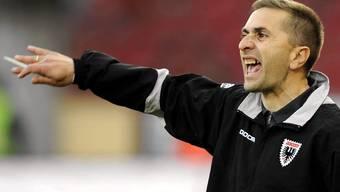 Der FCA-Coach Jakovljevic fordert von den Spielern eine deutliche Leistungssteigerung