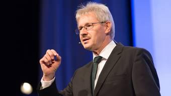 Kurt Schmid fordert «lediglich die Wiederherstellung des letztjährigen Steuerniveaus».