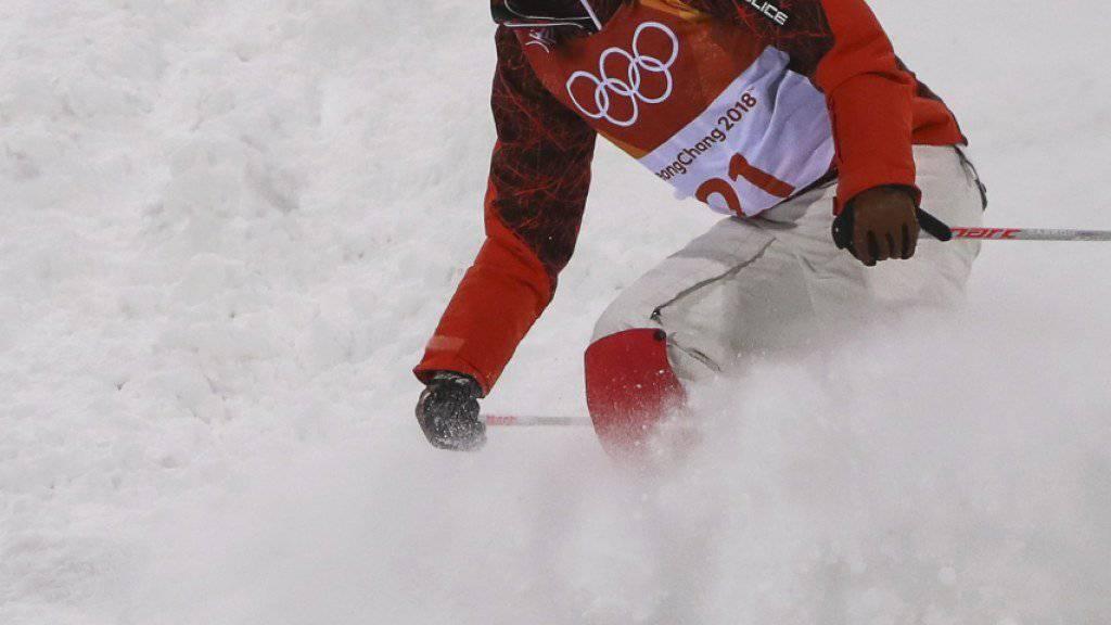 Deborah Scanzio während des Trainings in Pyeongchang