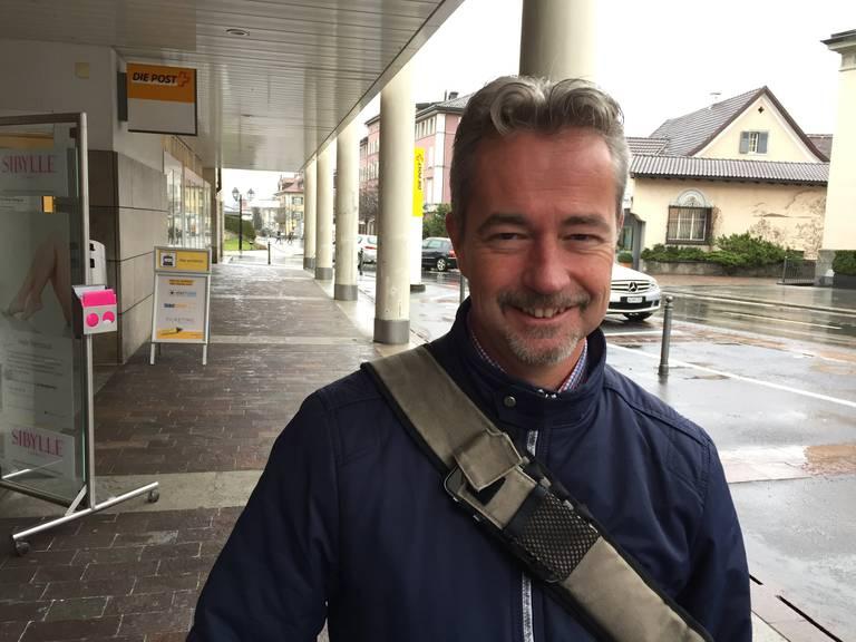 Stefan Schaub hat kommen sehen, dass die Bergbahnen durch den Steuerzahler unterstützt werden. (Bild: FM1Today/ Fabienne Engbers)