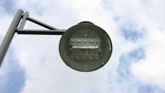 LED-Strassenlampen. (Symbolbild)