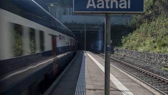 Bahnhof Aathal. (Archiv)