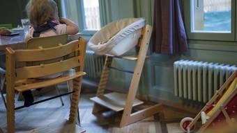 Spätestens wenn das Kind einjährig ist, wird die Wiederaufnahme der Arbeit erwartet. Für alleinerziehende Mütter heisst dies, dass sie ihre Kinder auf Kosten des Staates fremdbetreuen lassen müssen.