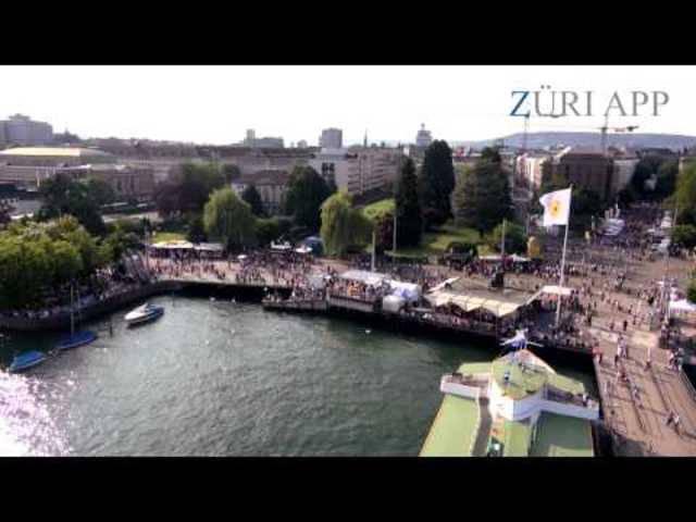 """Impressionen vom Züri Fäscht 2013 – """"Collage"""" mit Drohne in Zürich"""
