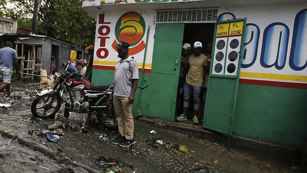 Haitis Rumpf-Senat wählt neuen Staatschef - vorerst keine US-Truppen