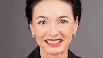 Marianne Binder, CVP-Ständeratskandidatin.