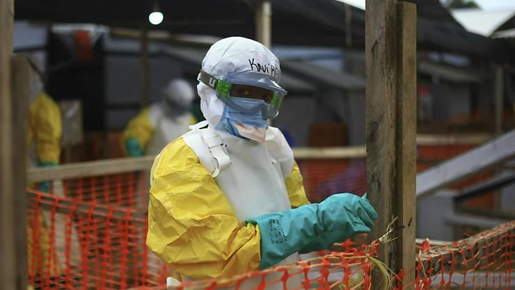 Ein Ebola-Behandlungszentrum im Osten von Kongo. (Archivbild)