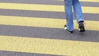 Die Fussgängerstreifen auf der Tramstrasse sind verschwunden. Symbolbild