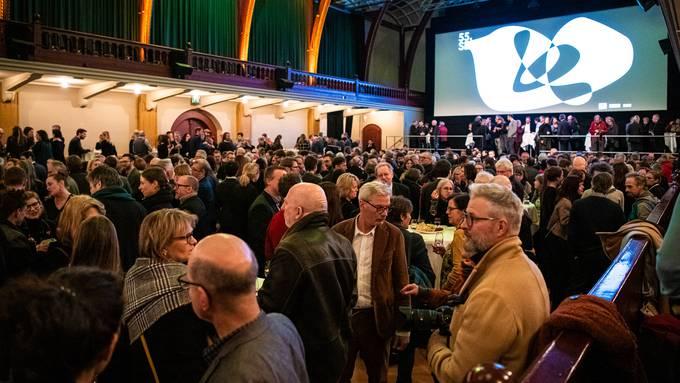 Die Party nach der offiziellen Eröffnung der Solothurner Filmtage.