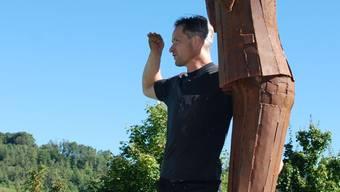 Daniel Schwarz entdeckt in seinem Kunstschaffen auch immer wieder Neues. Susanne Hörth