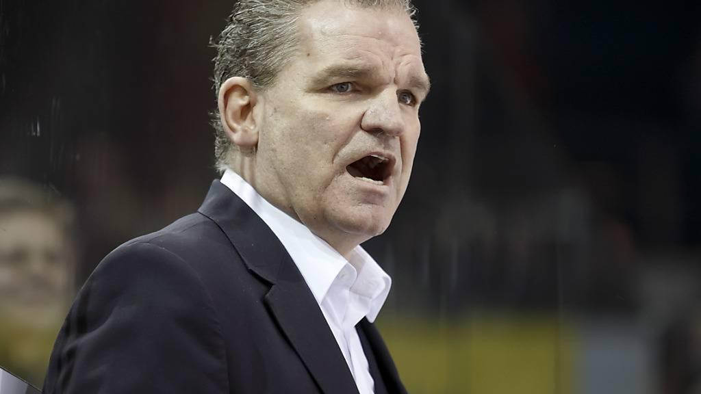 Sean Simpson im Trainerstab von Fribourg