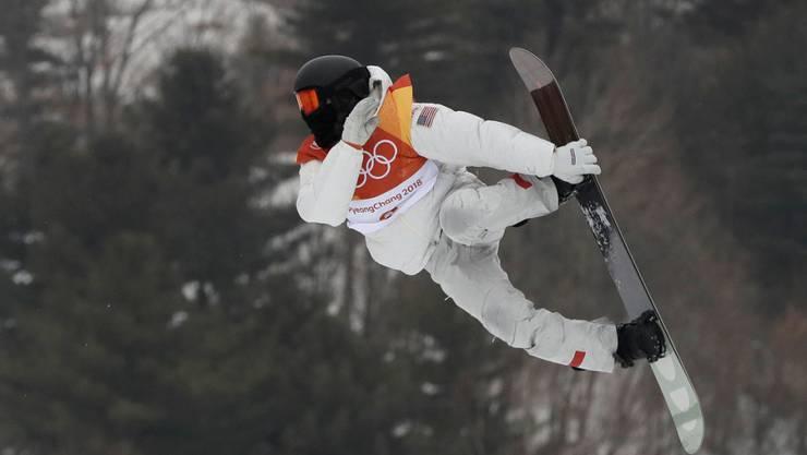 Shaun White holte zum dritten Mal nach 2006 und 2010 Olympia-Gold in der Halfpipe