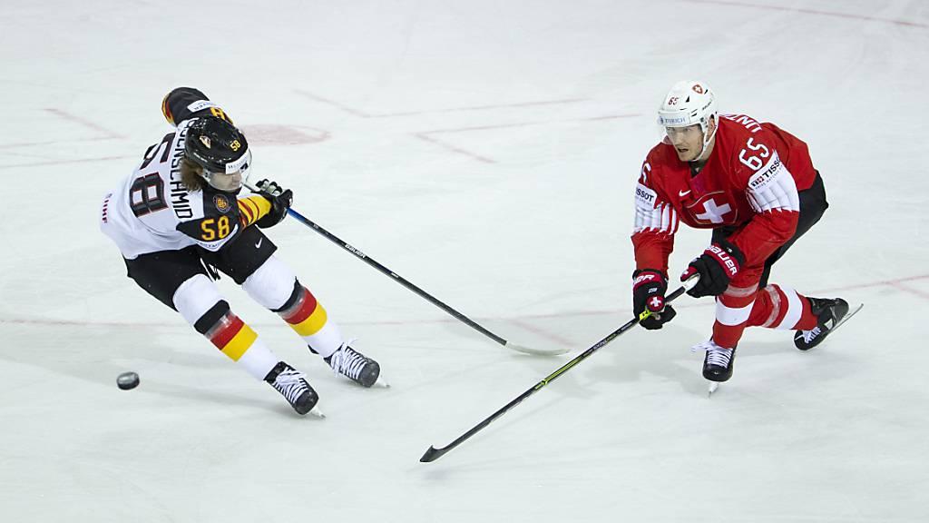 Deutschland und die Schweiz treffen 2022 an den Olympischen Spielen und an der WM aufeinander.