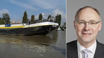 Nationalrat Hansjörg Knecht will den Ausbau der Rheinschifffahrt genauer prüfen lassen.