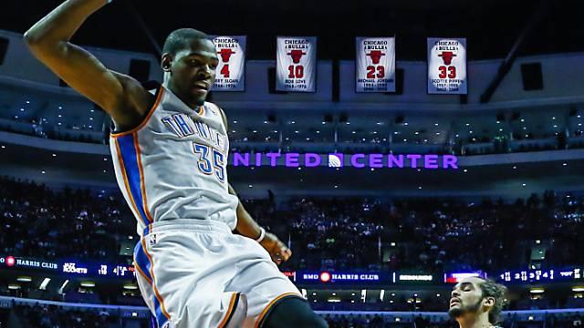 Mann des Abends: Oklahomas Kevin Durant